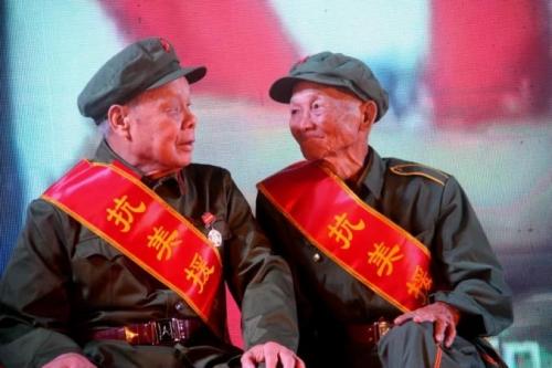 """中共中央、国务院、中央军委将颁发""""抗美援朝70周年""""纪念章"""