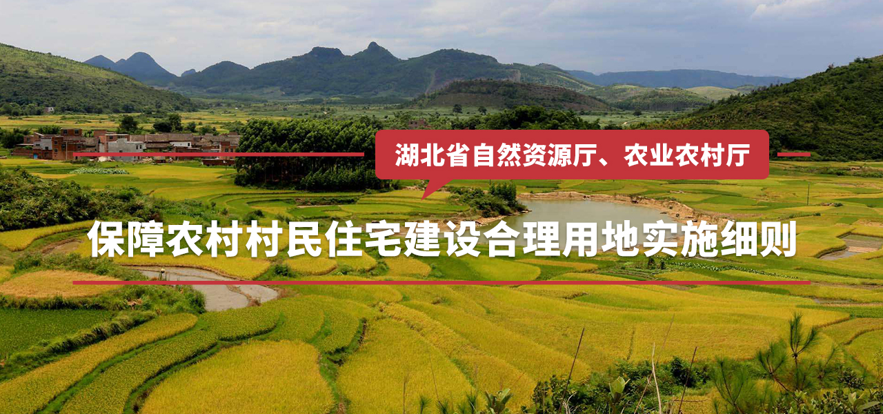 湖北省保障农村村民住宅建设合理用地实施细则